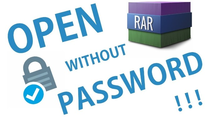 How To Open Password Protected Rar Files Without Software