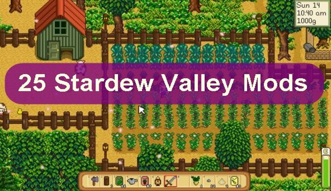 Top 25 Best Stardew Valley Mods You Must Try Once