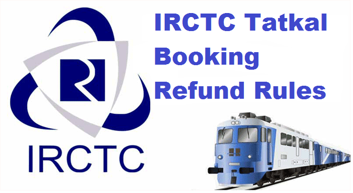 What Is IRCTC Cancellation Charges Of Tatkal Ticket 2017