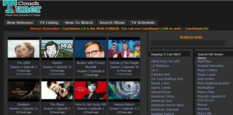 Top 15+ Sites Like Couchtuner And It's Alternatives