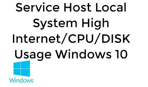 Fix Service Host Local System High Disk or CPU Windows 10
