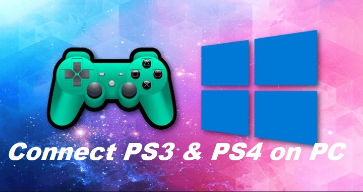 How To Connect PS3 And PS4 Controller On PC Windows 10/8.1/7
